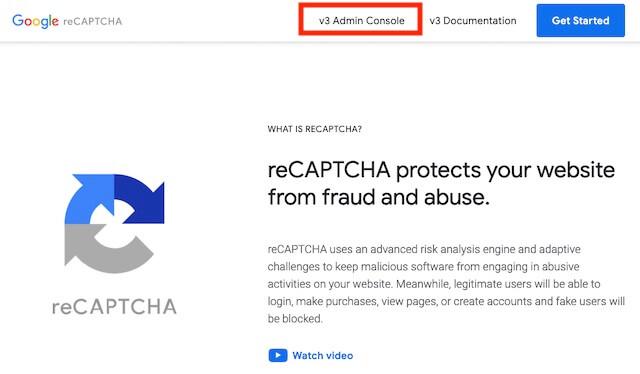 google recaptcha サイトキー シークレットキー 確認 再取得